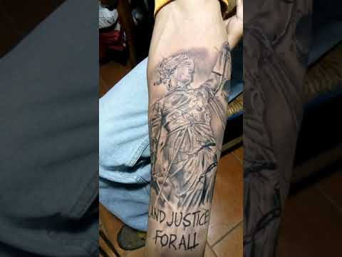 Metallica And Justice For All Tattoo Youtube