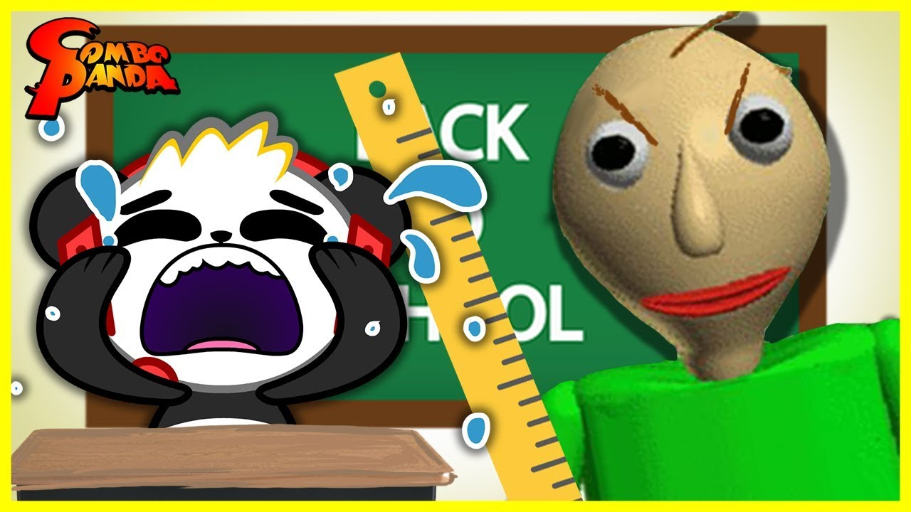 Roblox Escape School Obby Lets Play With Combo Panda Baldi Took Over Roblox The School House Let S Play With Combo