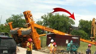Top Dangerous Crane Fails 2021 ! #Shorts