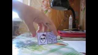 Как сделать открытку для куклы.(, 2014-08-18T14:44:27.000Z)
