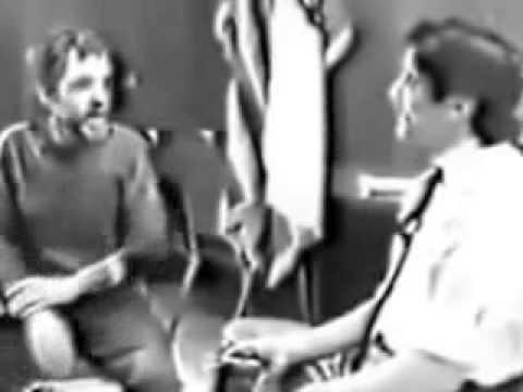 Charles Manson  mit Geraldo Rivera aus dem Jahr 1988