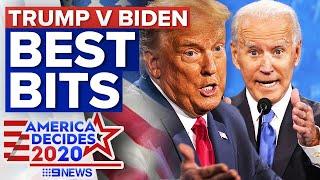 Highlights from the Trump Biden debate in Nashville   9 News Australia