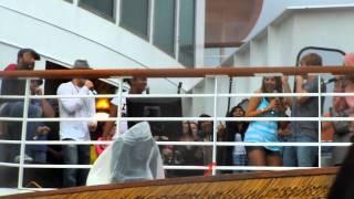 BSB Cruise 2011 Karaoke - Livin La Vida Loca