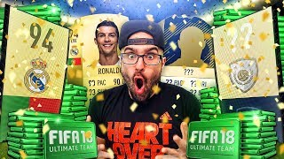 OMG CRISTIANO RONALDO & ICON IN A PACK! FIFA 18 Pack Opening *400,000 POINTS PACK OPENING!*