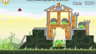 Angry Birds Level 2-21