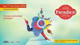 Parade(s) 2018 : 1, 2 et 3 juin