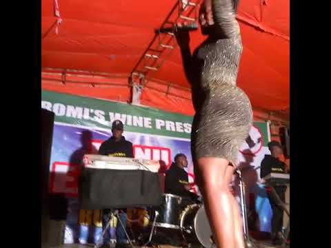 On stage with ntwala