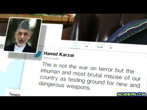 Former Afghan President Karzai Says Afghanistan Being Used As Weapons Testing Ground