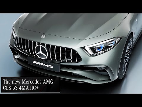 2022 Mercedes-AMG CLS 53 4MATIC+ / A stylish sports coupe inside and out
