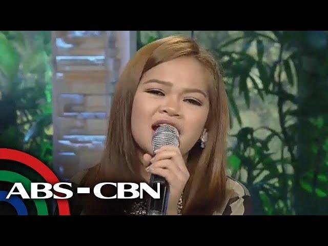 UKG: Janine Berdin, muling inawit ang Nosi Balasi
