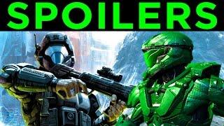 Halo 5   Fate of JUN, BUCK, ROOKIE   Halo New Blood