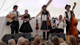 Buffalo Gals Stampede, Peg and Awl,  Priddy Folk Festival 2014