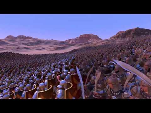 12,000 Persians vs 12,000 Romans! Ultimate epic battle simulator