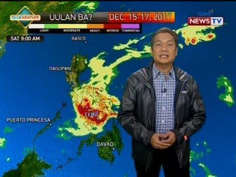 Bagyong Urduja, inaasahang magla-landfall sa Eastern Samar bukas
