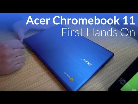 Acer Chromebook 11 (CB311) Hands On At CES 2018