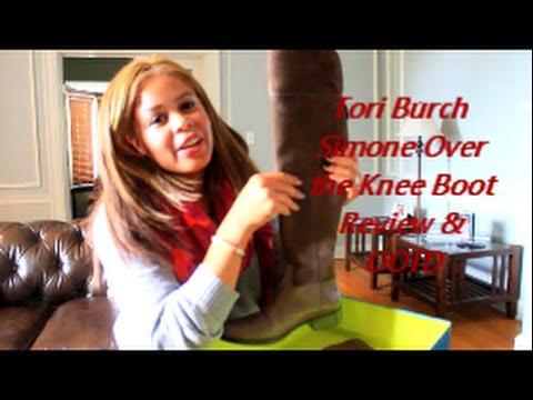 9e57f5d25e5e Tory Burch Simone Over the Knee Boots Reveiw   OOTD! - YouTube
