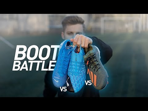 BOOT BATTLE: NIKE