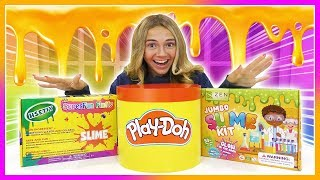 NEWEST SLIME KITS REVIEW! | NEVER SEEN BEFORE SLIME! | Kayla Davis