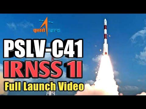 🔴 Live - ISRO's PSLV-C41/IRNSS-1I Launch Mission