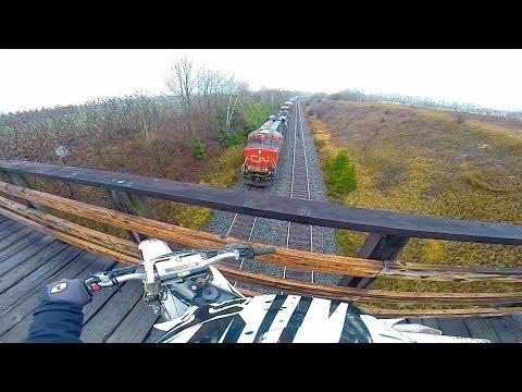 GoPro Dirt Biking: Newtonville, Ontario