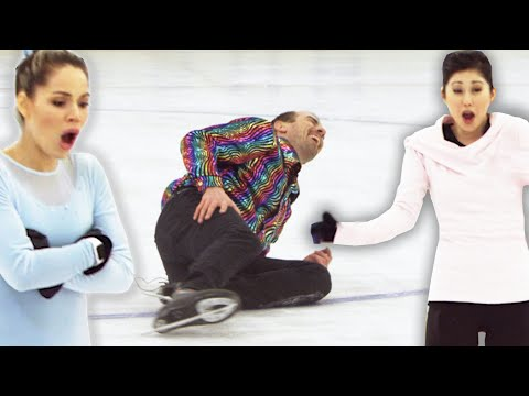 Regular People Try Olympic Figure Skating With Kristi Yamaguchi