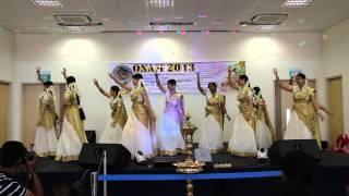 keraleeyam- theme dance @ Punggol CC Onam