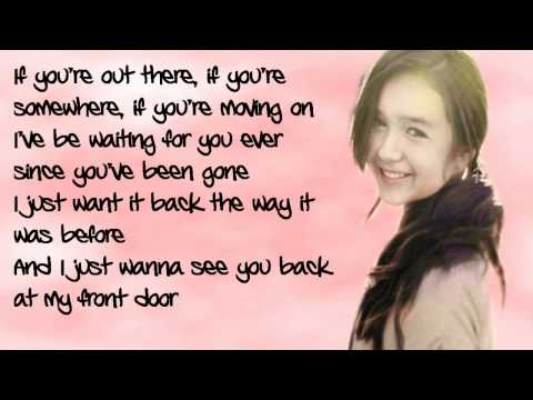 Maddi Jane - If This Was A Movie [Lyrics On Screen / Taylor Swift]