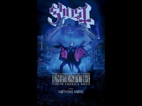 Ghost announce North American arena tour for the fall of 2019..!