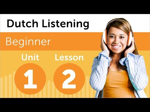 Learn Dutch - Dutch Listening - Rearranging the Office in th