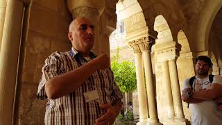 The Lord's Prayer in the language in which Jesus spoke - Aramaic. Tour guide: abdo safar, Bethlehem