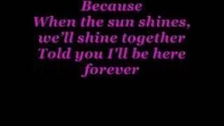 Rihanna ft. Jay-Z Umbrella (mit lyric)