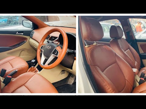 Hyundai Verna Interior | Cheapest Car Interior In Karol Bagh | Modified Hyundai Verna | Verna
