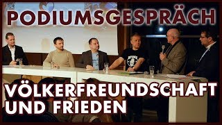 Völkerfreundschaft und Frieden - Podiumsgespräch in Bautzen (05.04.2018)