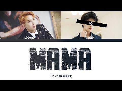 BTS (방탄소년단) (2 Members) – MAMA - Color Coded Han/Rom/Esp/Eng