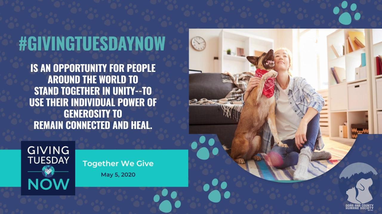 #GivingTuesdayNow is tomorrow!