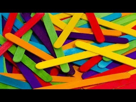 Ice Cream Sticks Wall Decoration Ideas 2019 - Paper Craft Wall Hangings - Diy Room Decor