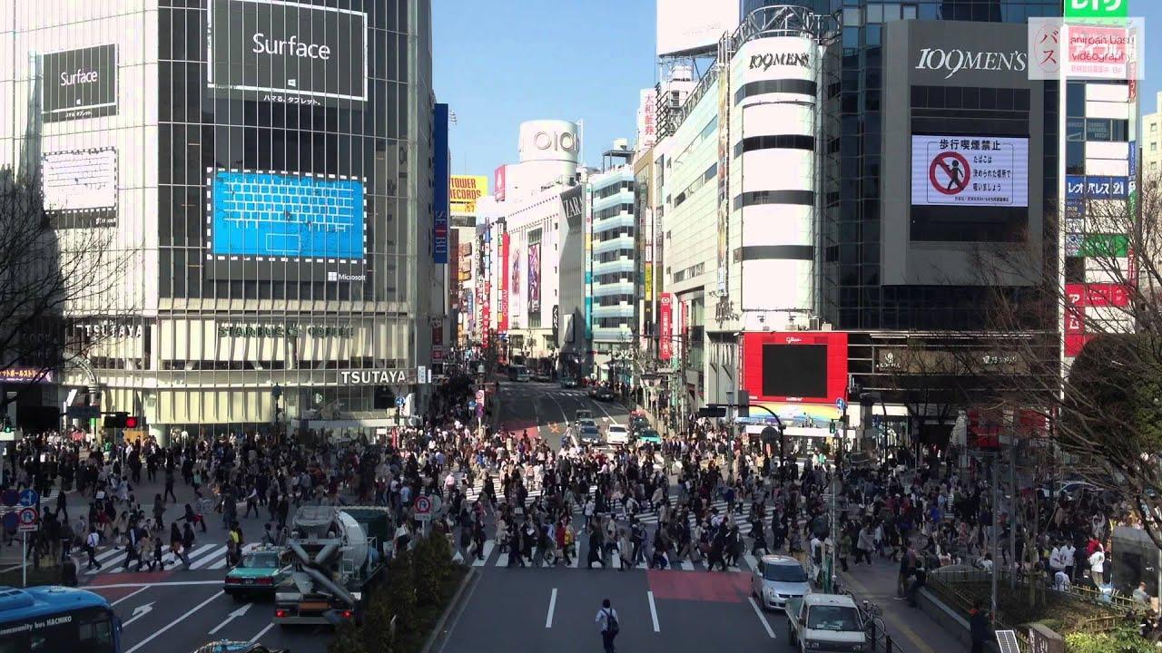 Iphone 6 Default Wallpaper Shibuya Scramble Crossing A Sea Of Humans 「渋谷スクランブル交差点
