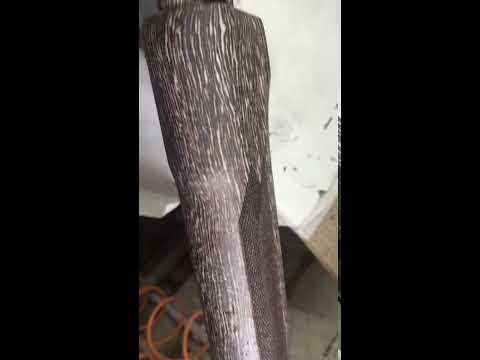 Цивье после восстановления и нанесения покрытия, матовый лак.