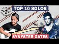 TOP 10 SOLOS SYNYSTER GATES AVENGED SEVENFOLD TOP 10 SOLOS A7X mp3