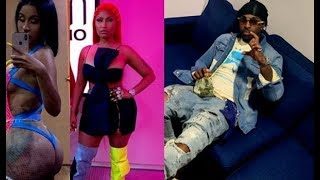 Nicki Minaj Out Smart Cardi B & Jump On Crip Rapper Pop Smoke Party Remix..DA PRODUCT DVD