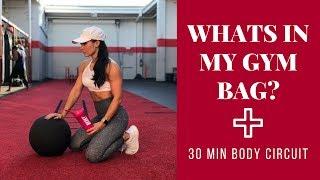 Inside My Gym Bag   30 Min Calorie Burn
