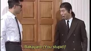 Japanese funny show!!! Door prank