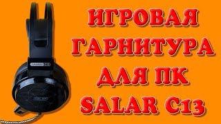 Посылка с AliExpress: Игровые наушники-гарнитура Salar C13