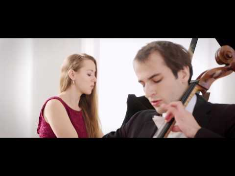 J. Brahms: Cello Sonata No. 1, Christoph Croisé, Cello, Oxana Shevchenko, Piano