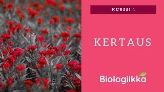 Biologia kurssi 1 tärkeimmät asiat