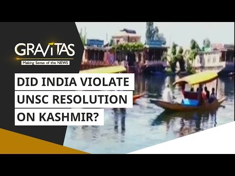 Gravitas: Did India violate UNSC resolution on Kashmir? Here's a Fact check
