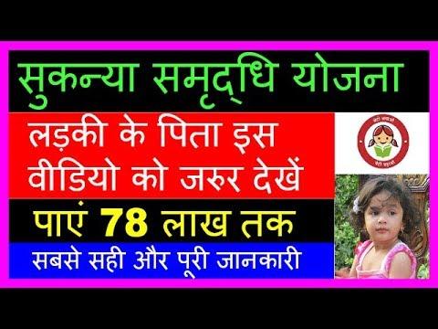 Sukanya Samriddhi Yojana Account Full Details Hindi 2017 | NRI Scheme | Post Office Calculator chart