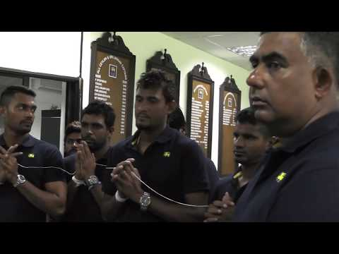 Sri Lanka Team Departure for Champions Trophy 2017