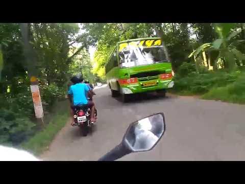 Bike Ride through Kothamangalam,The Gateway to Munnar
