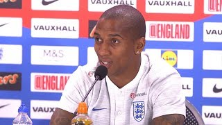Ashley Young Full Pre-Match Press Conference - England v Croatia - World Cup Semi-Final -Russia 2018